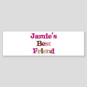 Jamie's Best Friend Bumper Sticker