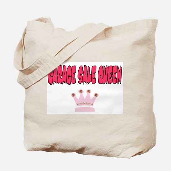 Garage Sale Queen Tote Bag