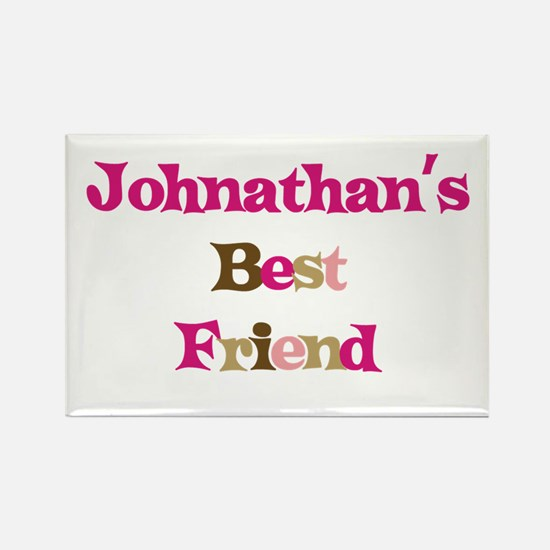Johnathan's Best Friend Rectangle Magnet