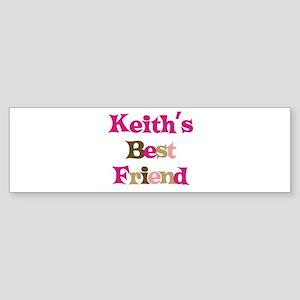 Keith's Best Friend Bumper Sticker