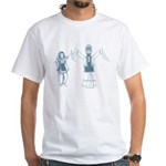 Nachde Punjabi White T-Shirt