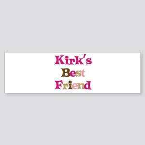 Kirk's Best Friend Bumper Sticker