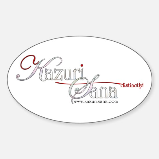 Official kazuriSana Oval Decal