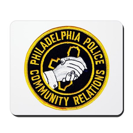 Philly Police PR Mousepad