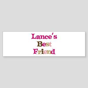 Lance's Best Friend Bumper Sticker