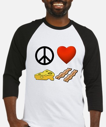 Peace, Love, Cheese, & Bacon Jersey