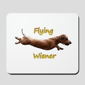 Flying Wiener Mousepad
