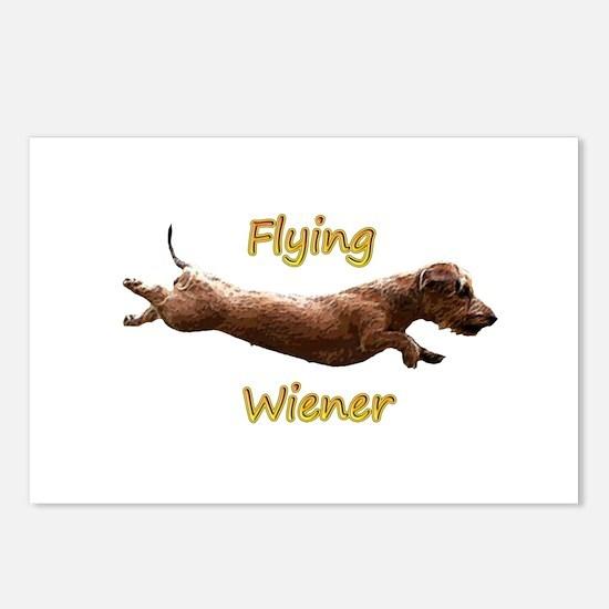 Flying Wiener Postcards (Package of 8)