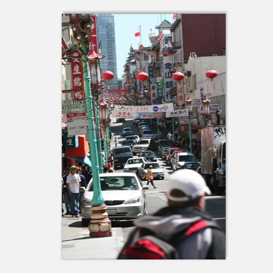 Chinatown Postcards (Package of 8)