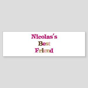 Nicolas's Best Friend Bumper Sticker