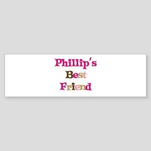 Phillip's Best Friend Bumper Sticker