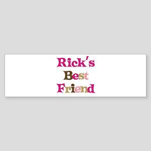Rick's Best Friend Bumper Sticker