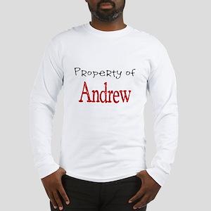 Andrew Long Sleeve T-Shirt