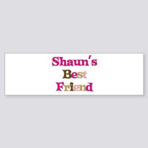 Shaun's Best Friend Bumper Sticker