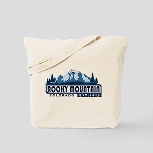 Rocky Mountain - Colorado Tote Bag