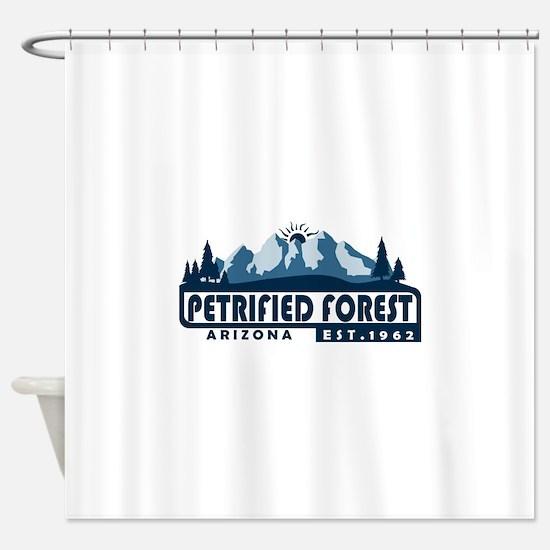 Petrified Forest - Arizona Shower Curtain