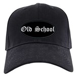 Old School Black Cap