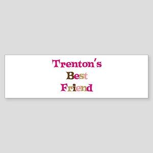 Trenton's Best Friend Bumper Sticker