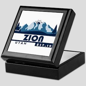 Zion - Utah Keepsake Box