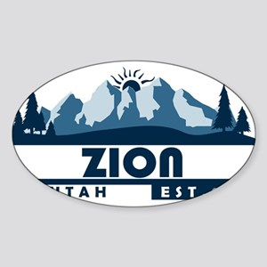 Zion - Utah Sticker