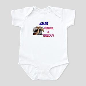 Kaleb Needs a Timeout Infant Bodysuit