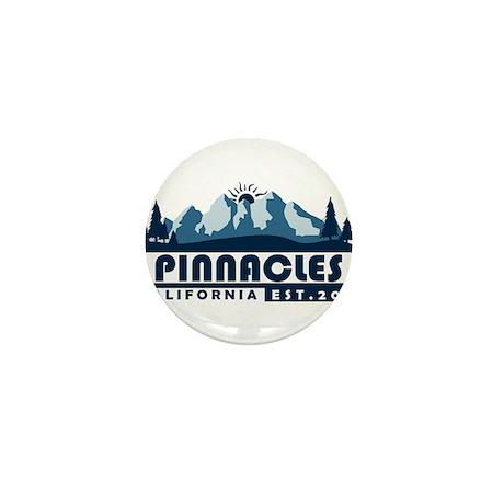 Pinnacles - California Mini Button