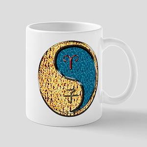 Aries & Water Rat 11 oz Ceramic Mug