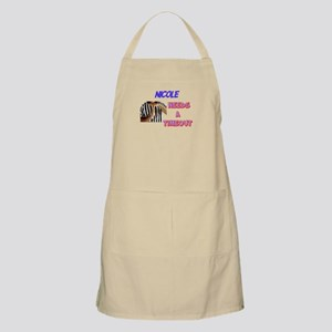 Nicole Needs a Time-Out BBQ Apron
