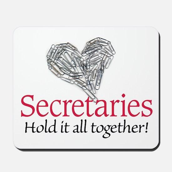 Secretaries Mousepad