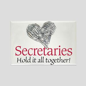 Secretaries Rectangle Magnet
