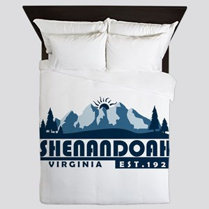 Shenandoah - Virginia Queen Duvet