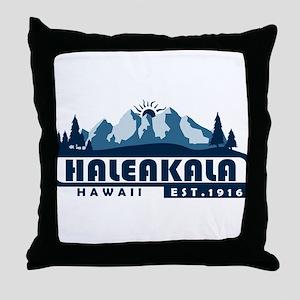 Haleakala - Hawaii Throw Pillow