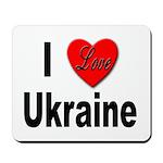 I Love Ukraine Mousepad