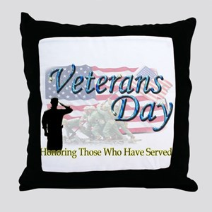 Veterans Day Throw Pillow