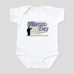 Veterans Day Infant Bodysuit
