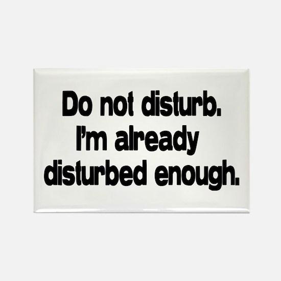 Do not disturb. Rectangle Magnet