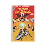 "Frig. Magnet - ""Virgin with Butterflies"""