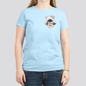 I LOVE EWE Women's Light T-Shirt