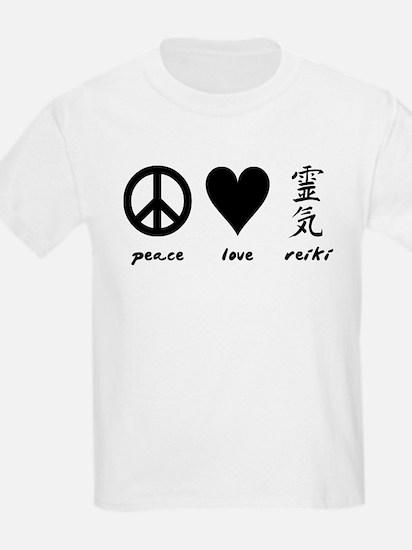 Peace, Love & Reiki T-Shirt