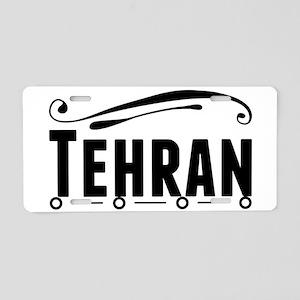 Tehran Aluminum License Plate