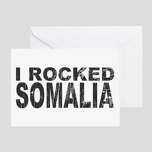 I Rocked Somalia Greeting Card