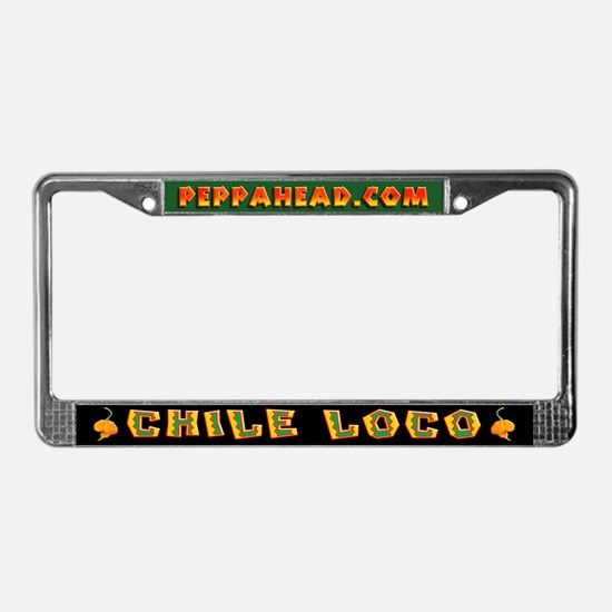 CHILE LOCO License Plate Frame