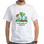 Earth Day White T-Shirt