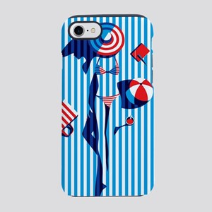 BODY ON BEACH TOWEL iPhone 8/7 Tough Case