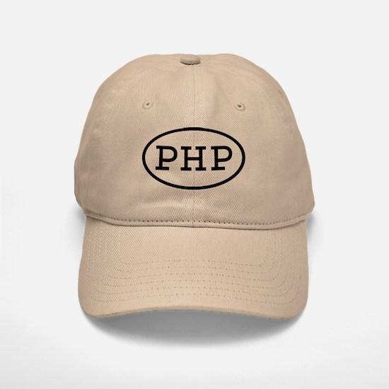PHP Oval Baseball Baseball Cap