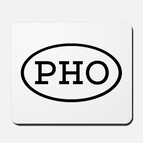 PHO Oval Mousepad