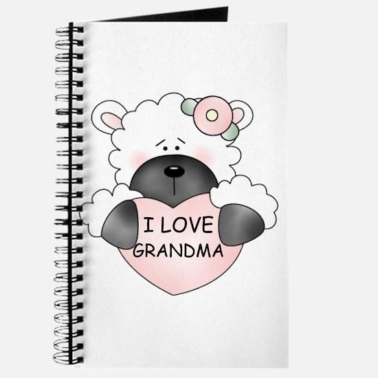 I LOVE GRANDMA Journal