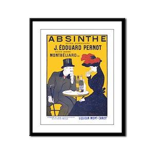 Absinthe Extra-Superieure. J. Edouard Pernot Frame