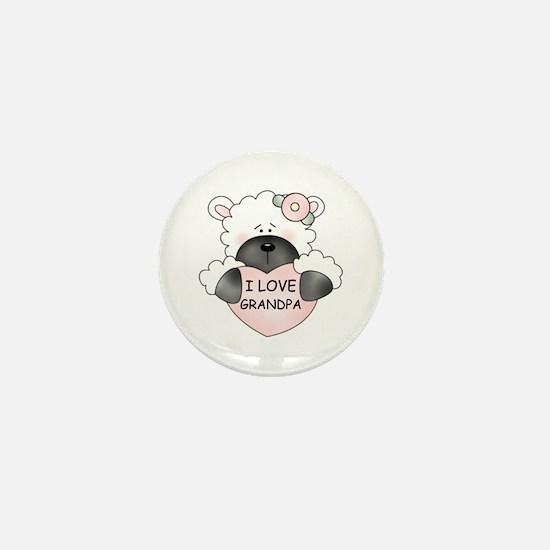 I LOVE GRANDPA Mini Button