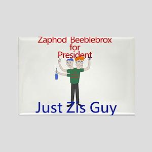 Zaphod Beeblebrox for President Rectangle Magnet